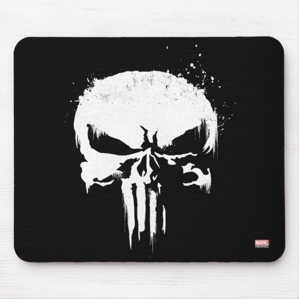 Punisher Skull Mouse Pad