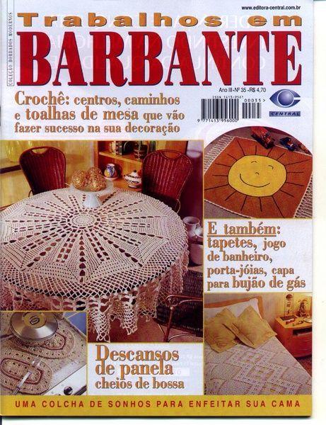 Trabalhos em Barbante 35 - melania ( croche) - Picasa Web Albums