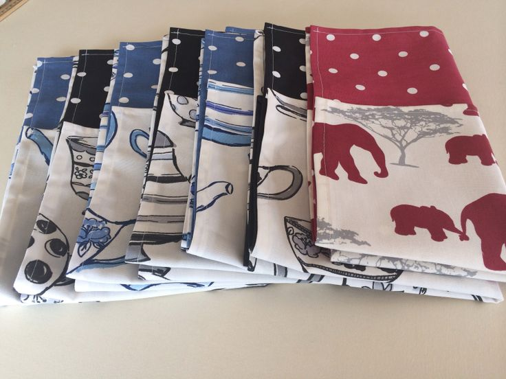 Tea Towels, a big must in every kitchen! £8 for a set of 2. Matching oven gloves available too :-) www.curtainsbyemmajane.co.uk