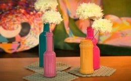 Thalita Carvalho, do blog 'Casa de Colorir', ensina o passo a passo. Aprenda a fazer em casa e surpreenda seus convidados com uma decoração descontraída.