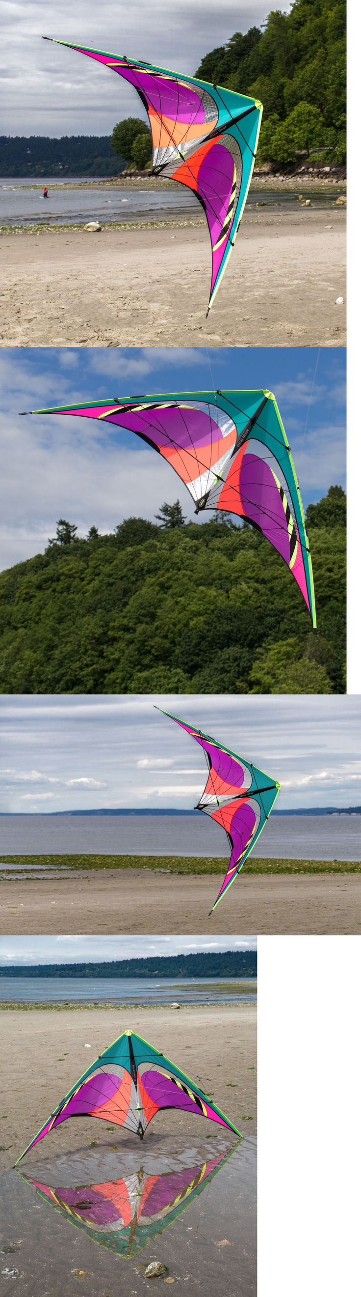 Kites 2569: Prism Quantum Radian Special Edition - Stunt Kite - Complete With Line -> BUY IT NOW ONLY: $115 on eBay!