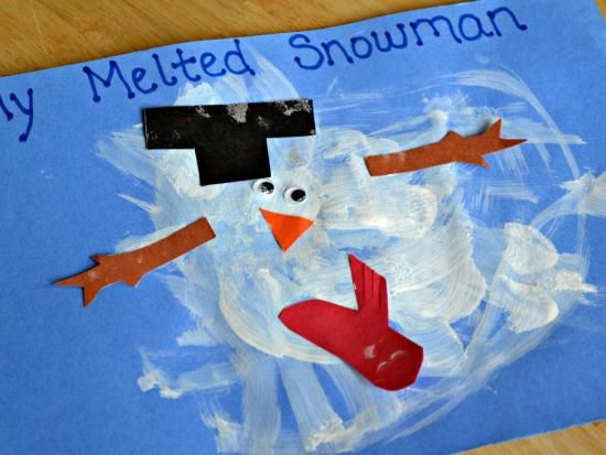 10 Snowman Art Projects For Cold Wintry Afternoons