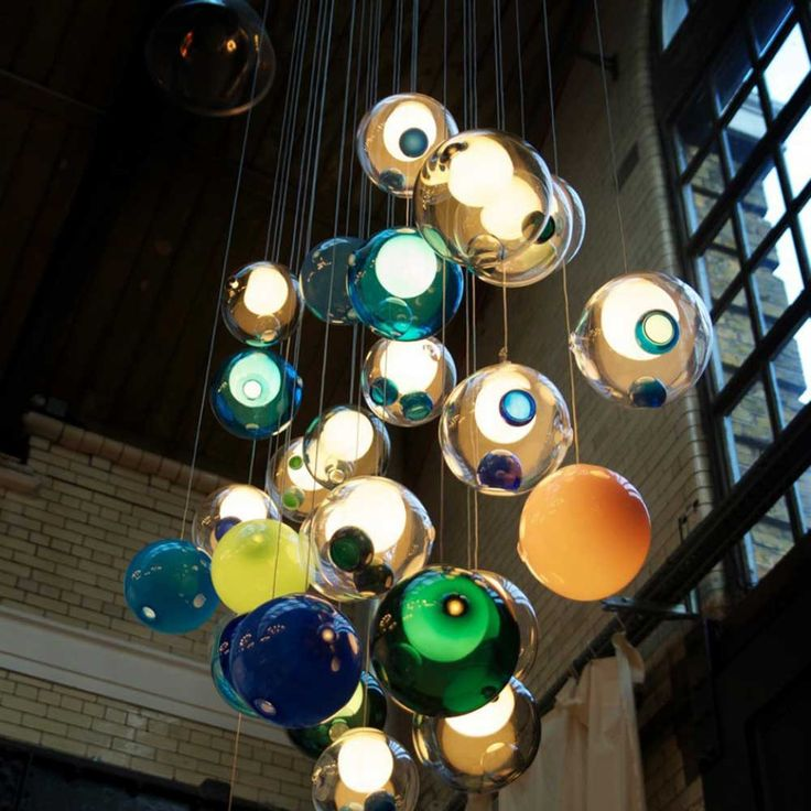 haus london Bocci 28 Light by Omer Arbel