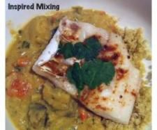 Fish with Curried Vegetables