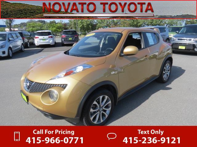 2013 Nissan JUKE S Gold 48k miles Call for Price 48137 miles 415-966-0771 Transmission: Automatic  #Nissan #JUKE #used #cars #NovatoToyota #Novato #CA #tapcars