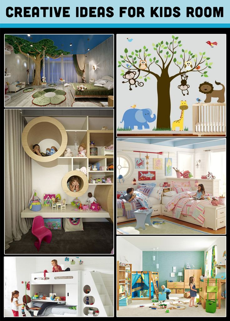 Create a space for your child where they can thrive, learn and play. #CreativeIdeas #KidsRoom #HomeDecor
