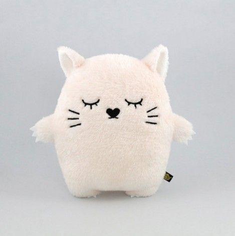 doudou chaton rose clair
