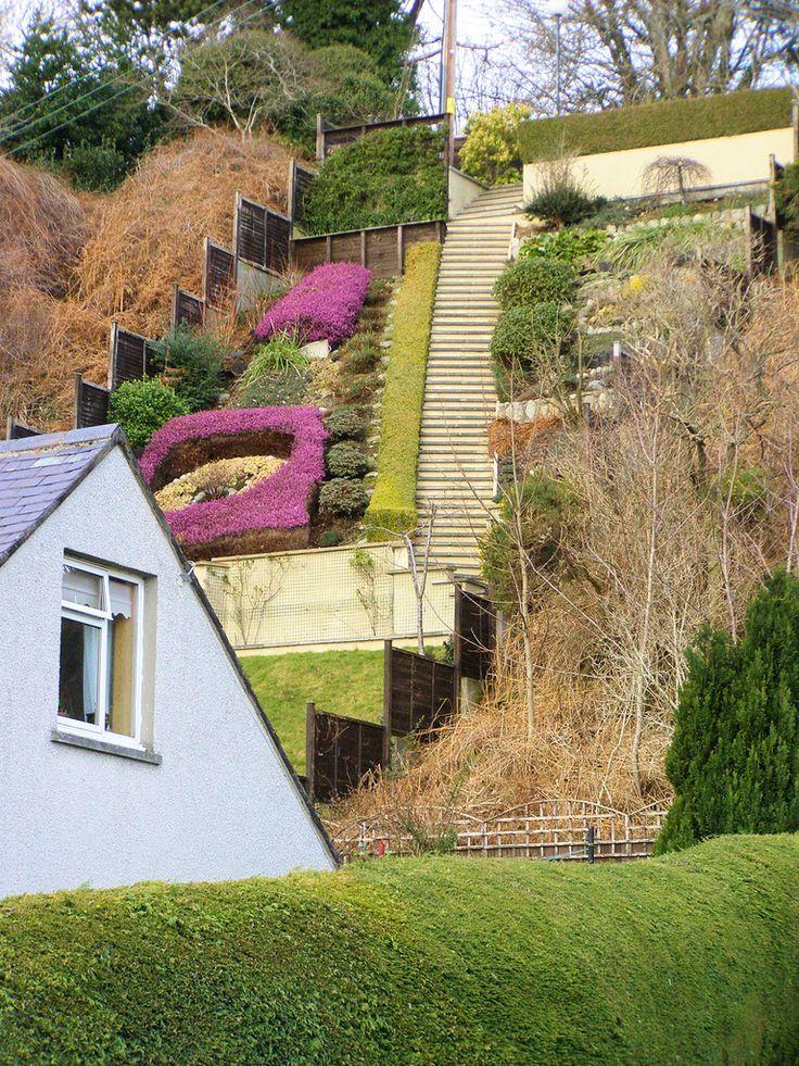 steep gardens ideas