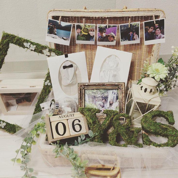 「グリーンモス」を使った結婚式手作り・DIYアイテムまとめ   marry[マリー]