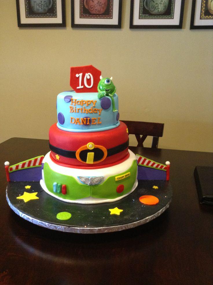 Best  Disney Infinity Cake Ideas On Pinterest Disney Infinity - Disney birthday cake ideas