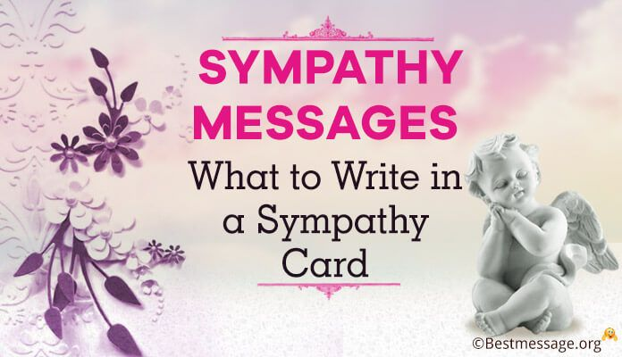 Best Sample Sympathy Messages Images On   Families