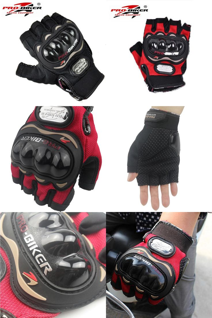 Motorcycle gloves with id pocket -  Visit To Buy Free Shipping Motorbike Half Finger Motorcycle Gloves Summer Luvas Para Moto