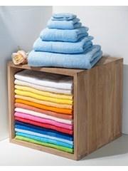 Gama cromatica de toallas para el baño