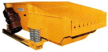 GRIZZLY GOSAG Alimentador precribador, diseñado para su instalación previa a un sistema de trituración, evitando la entrada de finos al triturador, lo que previene desgastes innecesarios o sobrecargas del mismo.