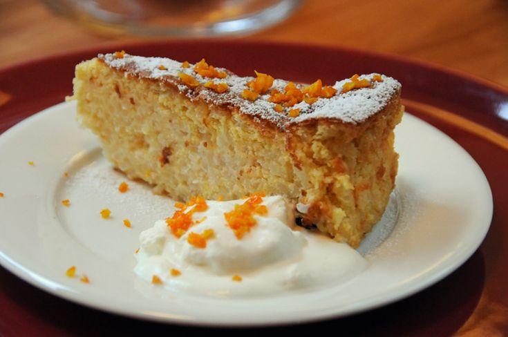 - Italiensk Riskake -  italian rice cake