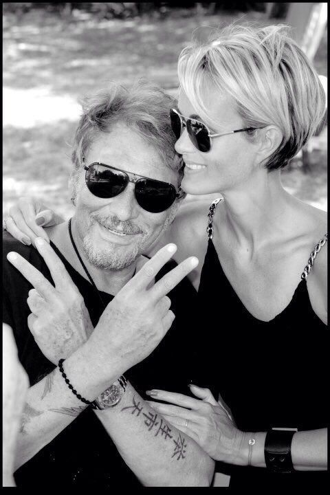 Johnny & Laetitia Hallyday