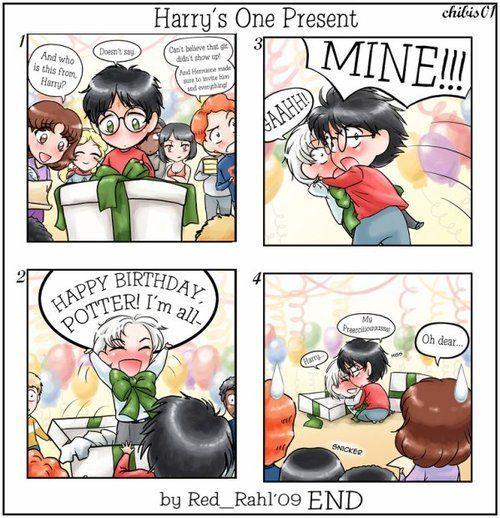 Art Of Comics And Manga: Harry Potter ~ Drarry Draco Malfoy X Harry Potter