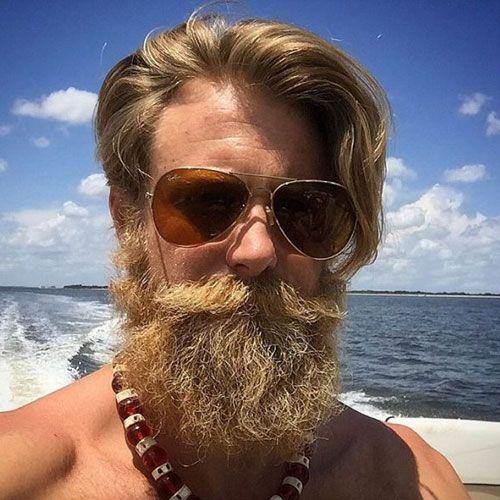 Cool Dirty Blonde Beard Styles