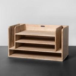 Wooden Desk Organizer - Hearth & Hand™ with Magnolia