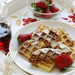 French Toast Waffles Recipe