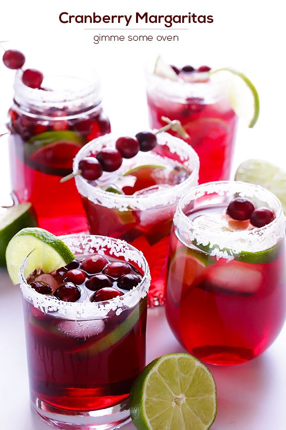 {Sip} Cranberry Margaritas