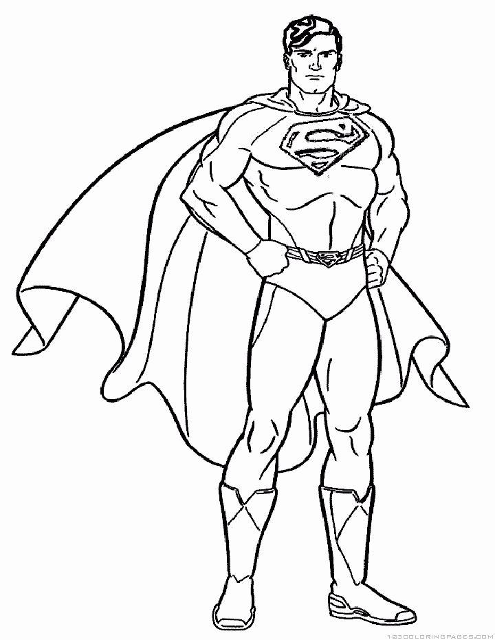 Super Hero Coloring Book Luxury Superhero Coloring Pages Superhero Coloring Superhero Coloring Pages Superman Coloring Pages