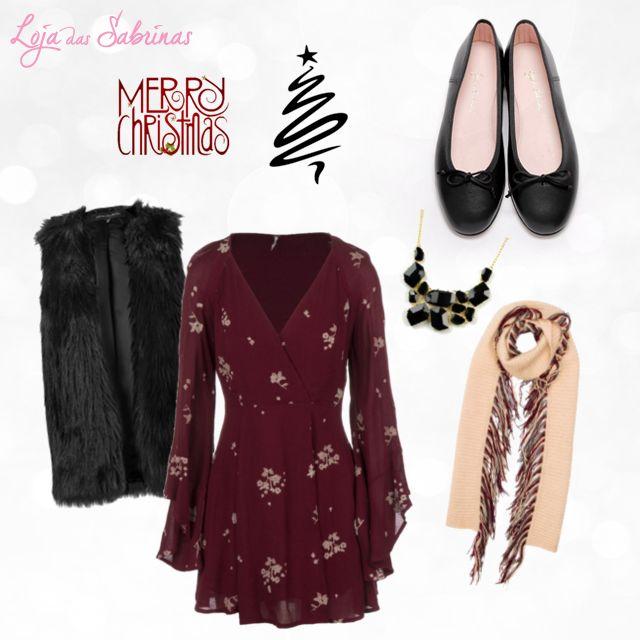 Já pensou no look para celebrar uma das noites mais mágicas do ano? Aqui fica uma sugestão: http://www.lojadassabrinas.com/product/ebano