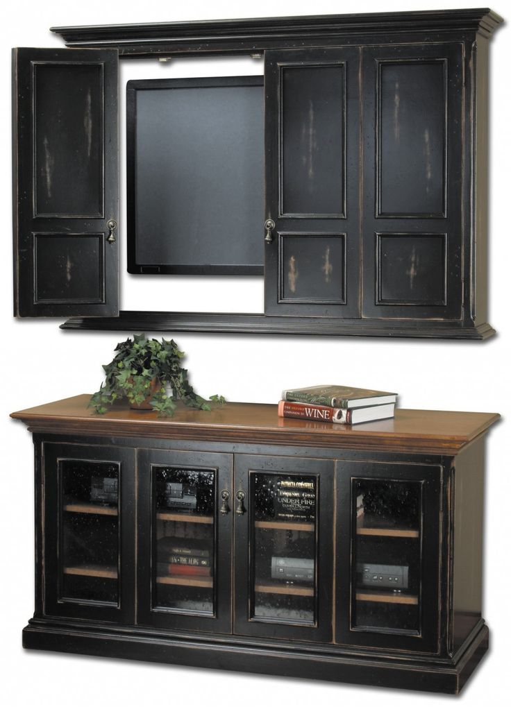 Classic Tv Cabinets With Doors for tv cabinets with doors to hide ...