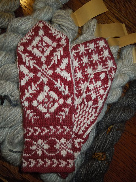Free pattern - Rigmors Selbu mittens, 5th pair pattern by Rigmor Duun Grande