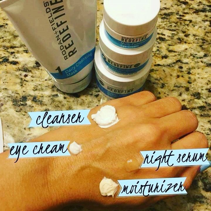 "Sometimes I'm told, ""I really want to try Rodan + Fields, but it's so expensive.""  Did you know that each REGIMEN consists of a 2+ month supply?! REDEFINE Eye Cream ~ 6+ months ENHANCEMENTS Microdermabrasion Paste ~ 5-7+ months  REDEFINE AMP MD roller ~ 1 year!!!  THIS IS *NOT* A ONCE A MONTH PURCHASE! The products are clinically-proven and they WORK!  Here is an example of the REDEFINE regimen. A little really DOES go a LONG way!"