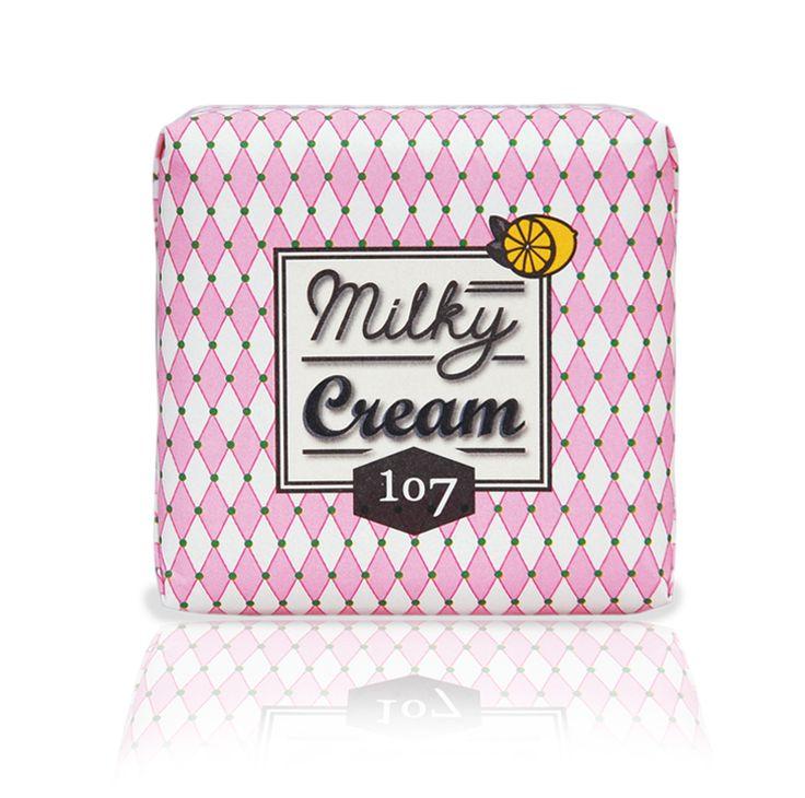 107 Milky Cream Lemon Soap