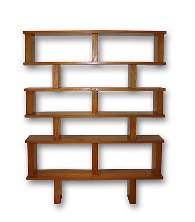 Bookcase, 1947. Designers: Charlotte Perriand & Pierre Jeanneret for Georges Blanchon.