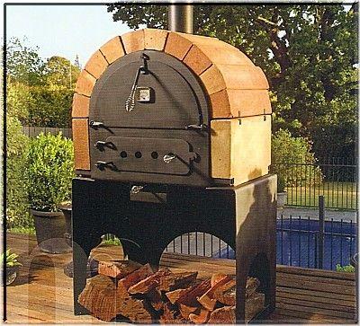Oltre 25 fantastiche idee su focolare da giardino su - Forno per pizza da giardino ...