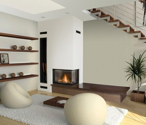 chimeneas de diseo aneto con recuperador de calor estilo integrador y funcional chimeneas