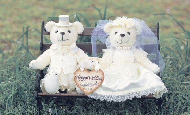 定番といえばウェルカムドール!いまやどの結婚式にも登場しますね。