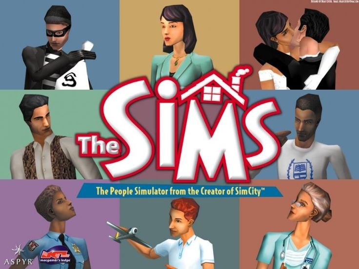 The Sims 2000    HAHHA i use to play this crap all the time, now whats the use... funny, I do the simlar junk everyday anyways.