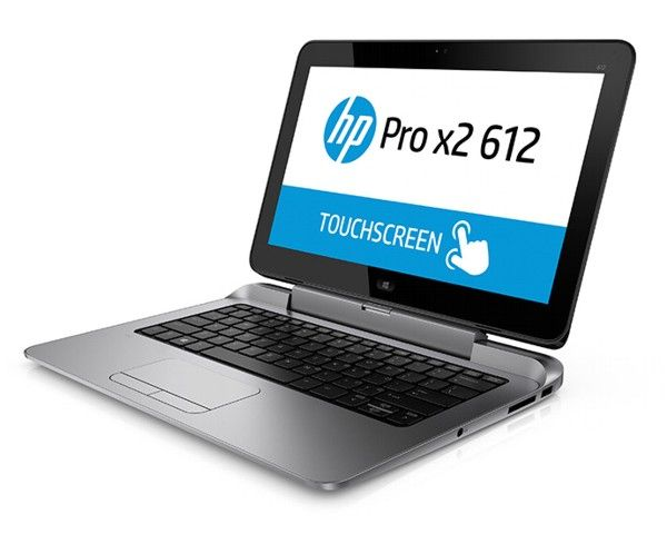 "HP Pro X2 612, una covertible ""tablet y laptop"" de 12.5 pulgadas con Windows 8.1."
