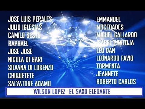 BALADAS -DECADA 70- SAXO ELEGANTE - YouTube