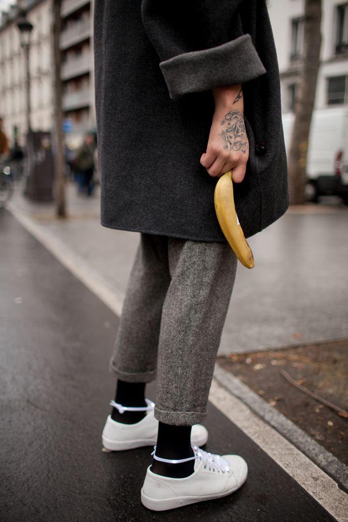 【スナップ】全196スナップ、栗原類やエイサップ・ロッキーもキャッチした2016-17年秋冬パリ・メンズ・ファッション・ウイーク ストリートスナップ 52 / 191