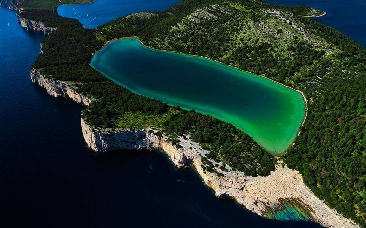 """Check out this amazing beach on Dugi Otok (""""Long Island"""") in Croatia"""