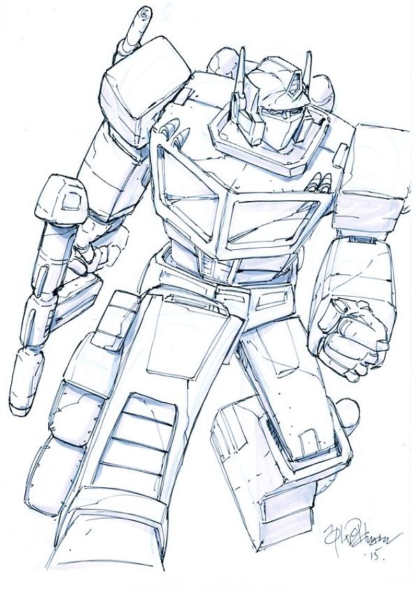 40 Cool Transformers Drawings For Instant Inspiration With Images