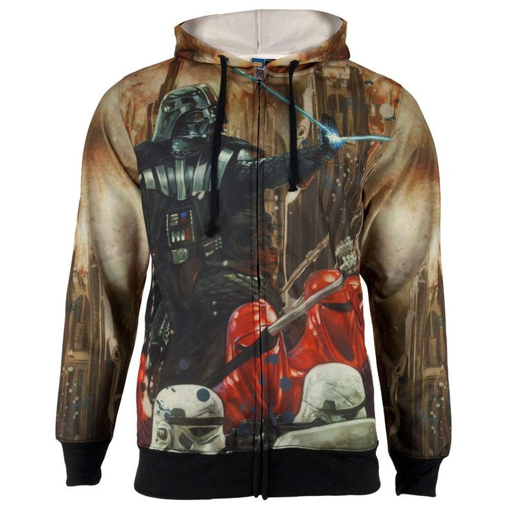 Star Wars - Epic Lord Sublimated Costume Adult Zip Hoodie