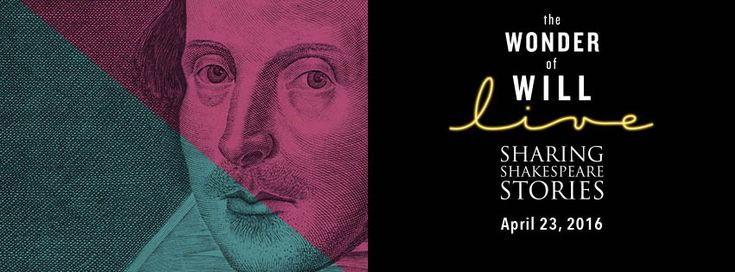 Four hundred years later, celebrate Shakespeare with The Wonder of Will Live, Shakespeare Lives, Chicago fireworks, and more events on April 23, 2016.