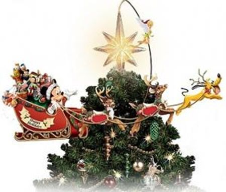 Hot new product added -  Illuminated Rotating Disney Tree Topper - http://ponderosa.co/b1001/illuminated-rotating-disney-tree-topper/