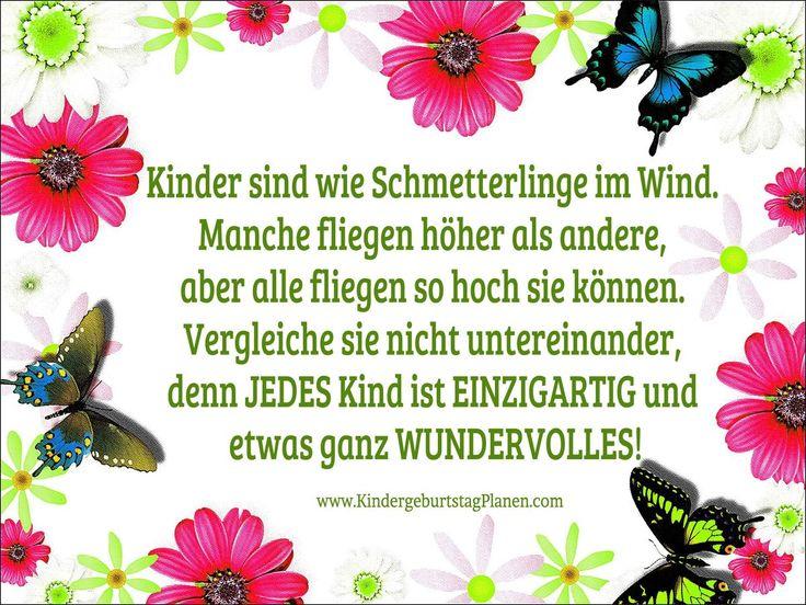 Kinder sind wie Schmetterlinge