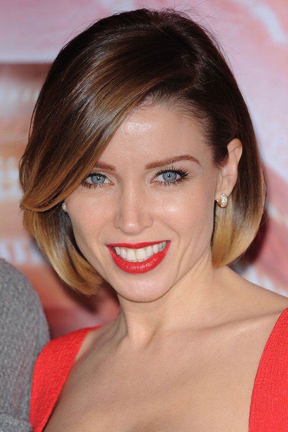 bob haircut bangs bob haircuts dannii minogue modern hairstyles short ...