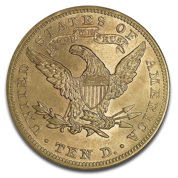 Buy U S Liberty 10 Dollar Gold Coins Online Money Metals Gold Bullion Coins Gold Coins Coins