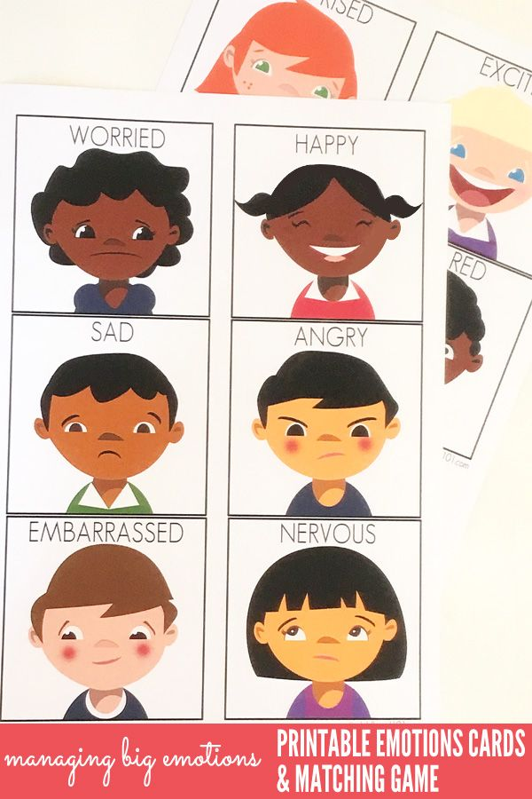It is an image of Gorgeous Printable Emotion Cards
