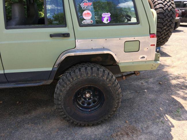 Rear Steel Fender Armor Flares Jeep Cherokee Xj Jeep Cherokee Jeep Cherokee Xj Fender Flares