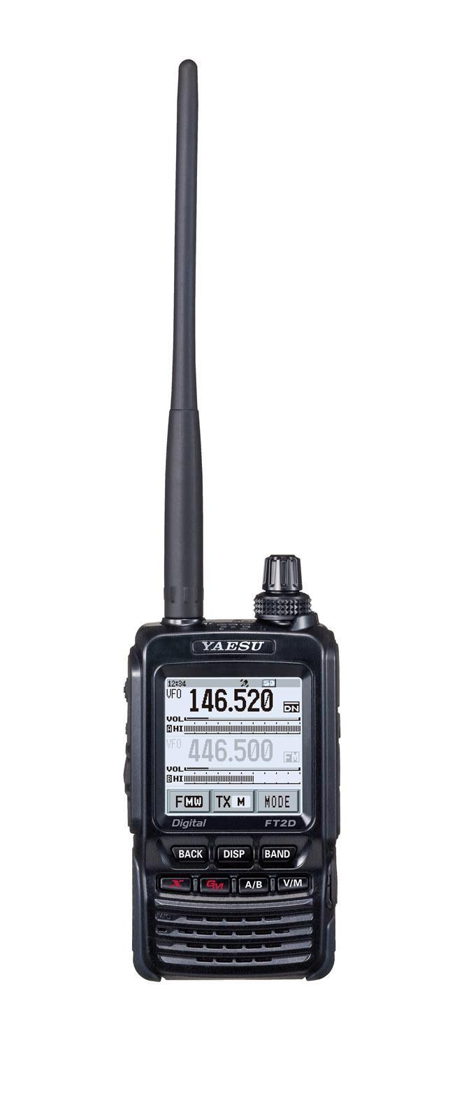 yaesu ft2dr 144430 mhz dual band c4fm digital hts are leading edge transceivers